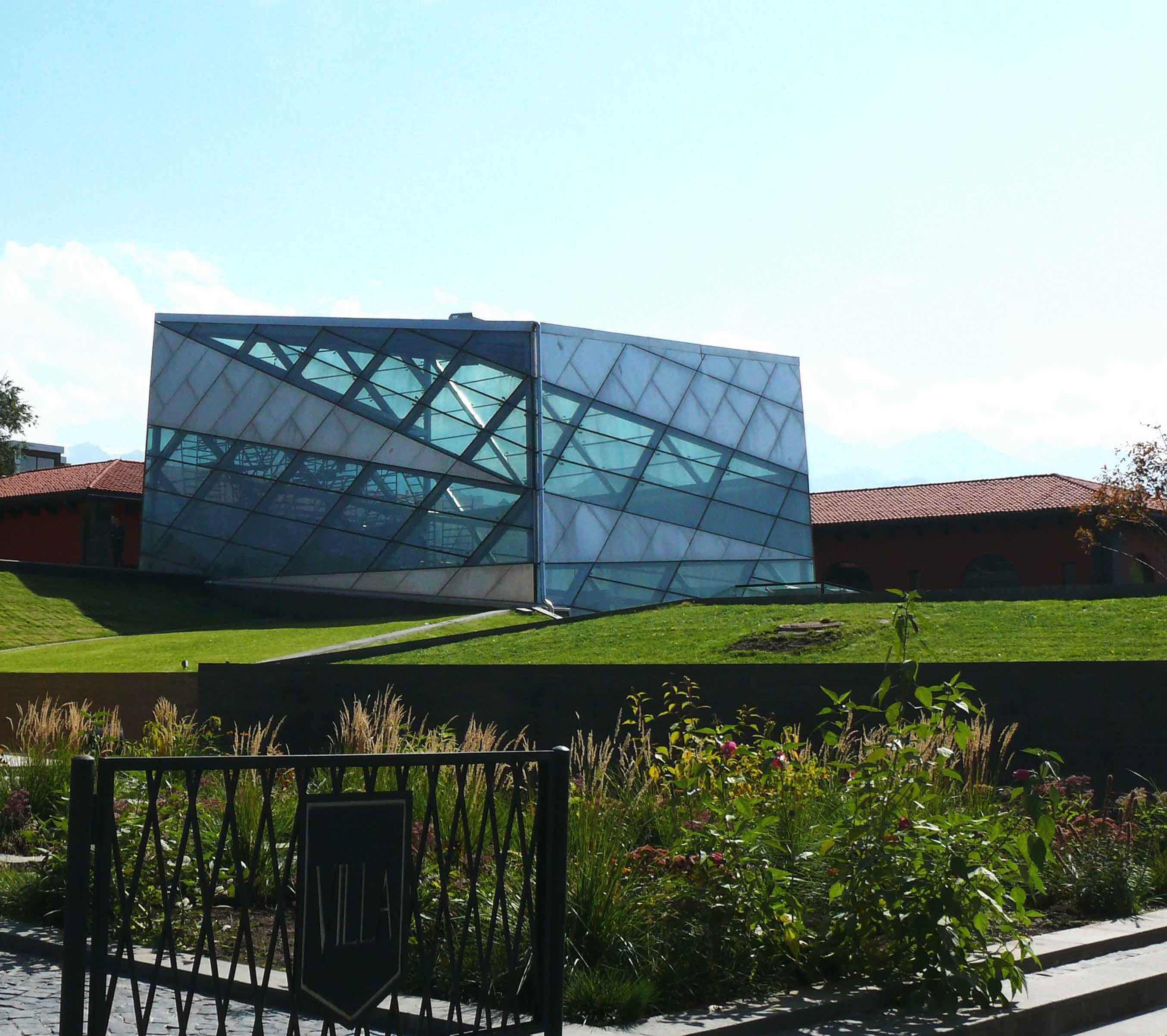 winter garden cube modern glass